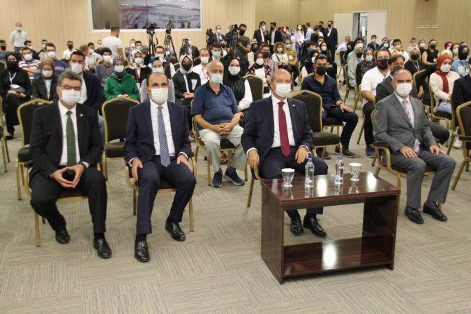 KKTC Cumhurbaşkanı Ersin Tatar, Konya'da gençlerle buluştu: