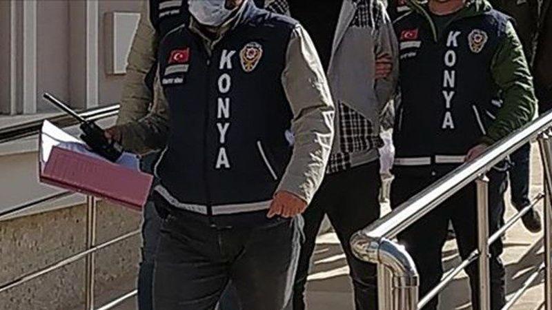28 ilde 48 ayrı suça karışan firari şüpheli Konya'da yakalandı