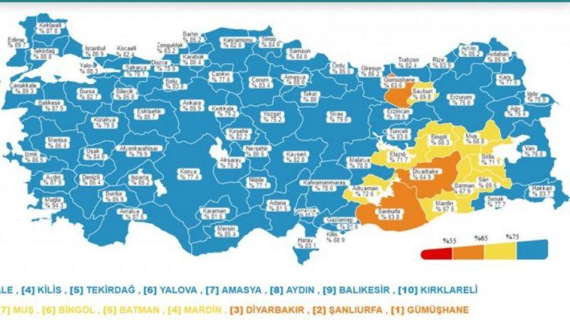 Koronavirüs salgınında günlük vaka sayısı 23bin 562oldu