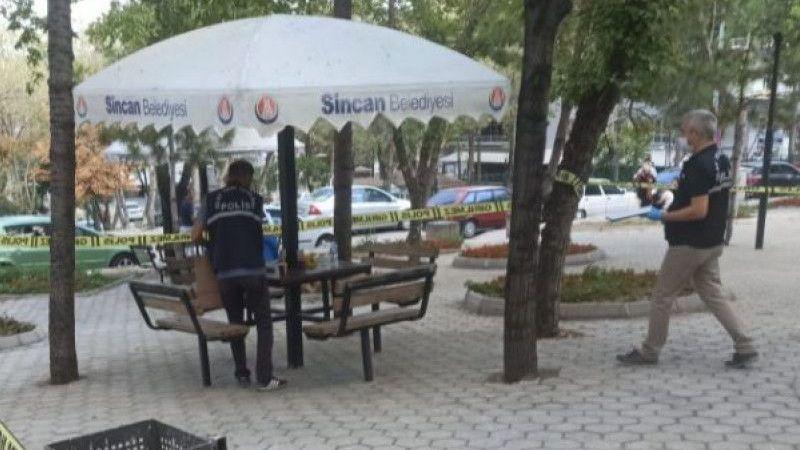 Ankara'da parkta silahlı saldırı: 1 ölü