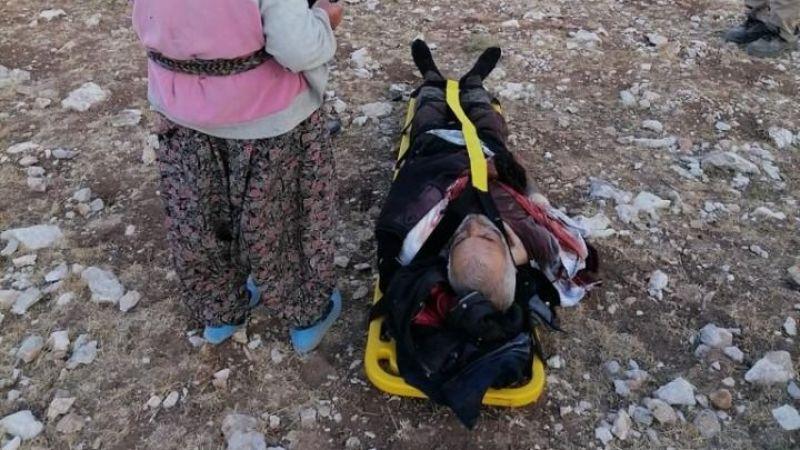 Dağda Yaralanan Çoban Hava Ambulansı İle Sevk Edildi