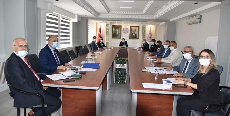 Teknopark Yönetim Kurulu Vali Işık Başkanlığında Toplandı
