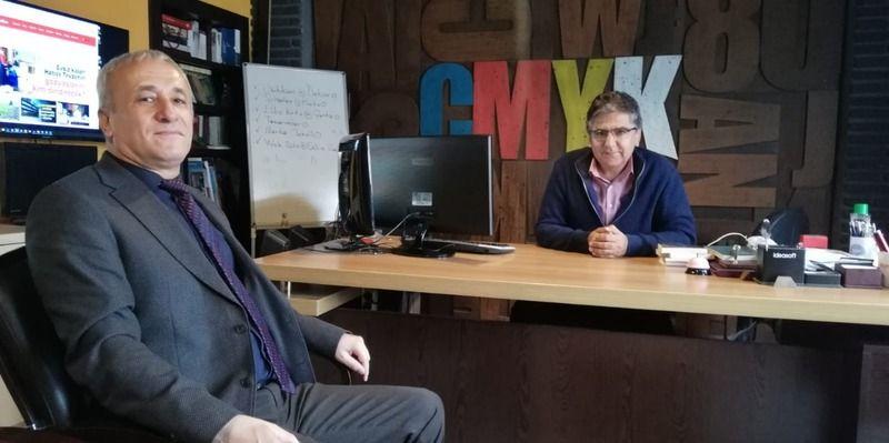 Ticaret İl Müdürü Adem Özcan'dan basın ziyareti