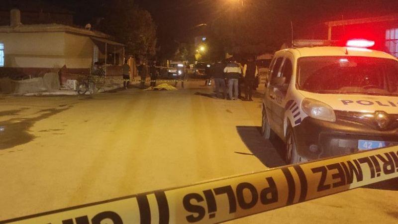 Karapınar'da arkadaş cinayeti