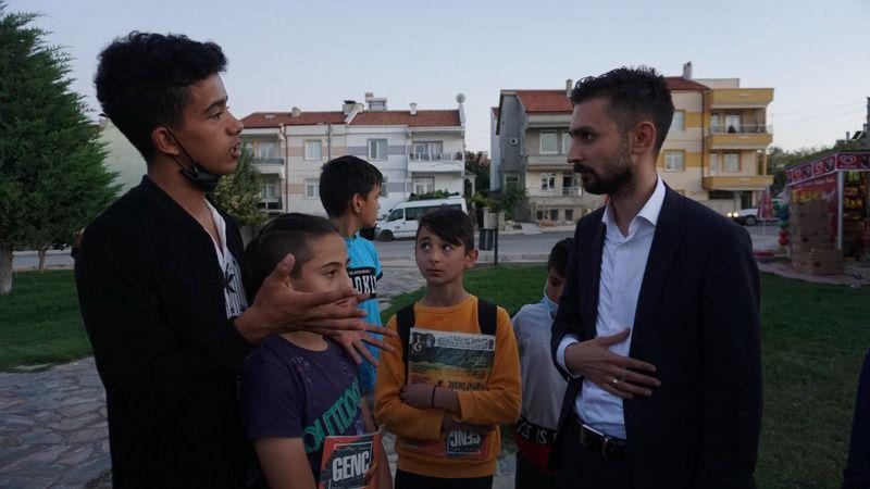 AK Gençlik mahalle buluşmaları devam ediyor