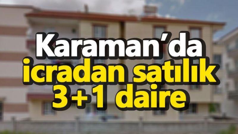 Karaman'da icradan satılık 3+1 daire