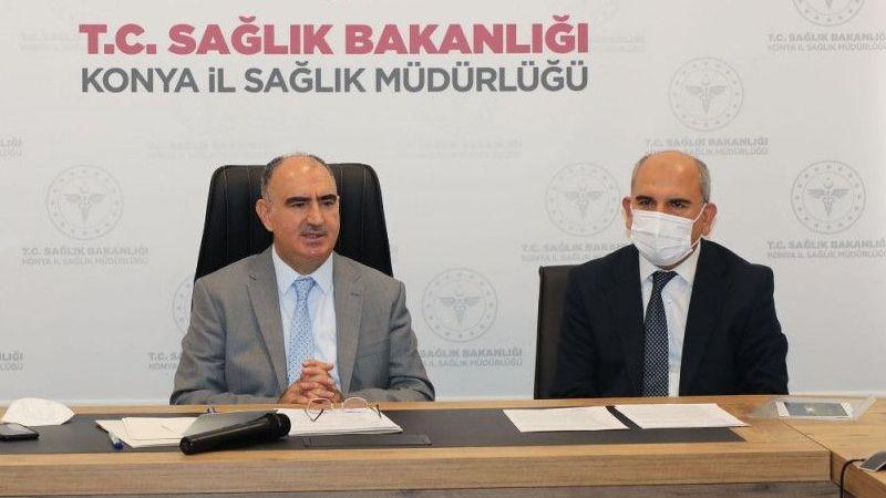 Konya'da 45 yaş altı pozitif vaka oranında artış ve aşı uyarısı
