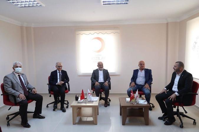 Türk Kızılay Genel Başkanından Karaman Şubesine ziyaret
