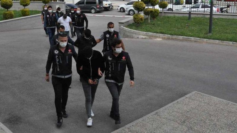 Karaman'da uyuşturucu ticareti yapan 4 kişi tutuklandı