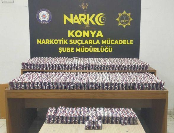 Polisten operasyon! 1.5 milyon liralık uyuşturucu madde ele geçirdi