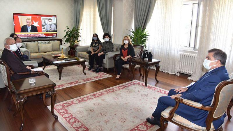 Kadın Girişimcilerden Vali Işık'a Ziyaret