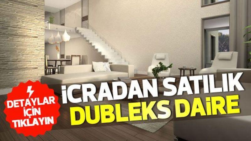 Karaman'da icradan satılık dubleks ev
