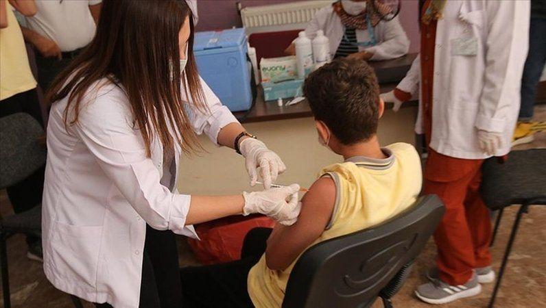 12 yaş üzeri çocuklar için 'aşı' çağrısı
