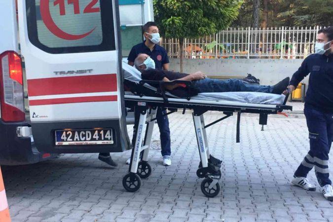 Tamirat için çıktığı çatıdan düşüp hastanelik oldu