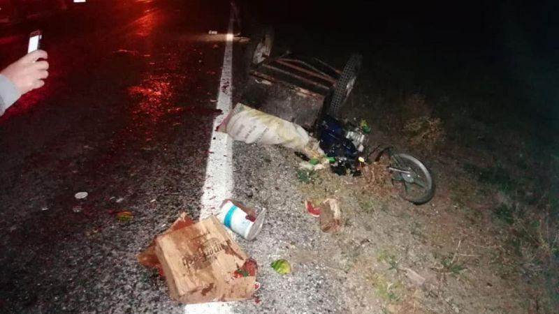 Konya'da ticari taksi ile üç tekerlekli motosiklet çarpıştı: 2 yaralı