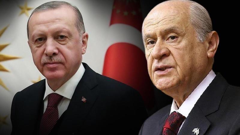 Cumhurbaşkanı Erdoğan ile Bahçeli saat 14.00'te görüşecek
