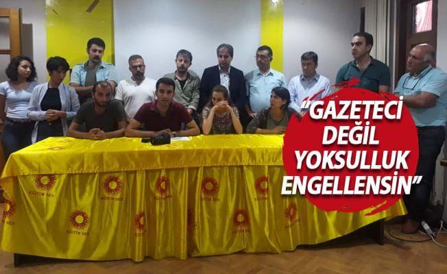 Gazeteciler sendikasından gözaltına tepki