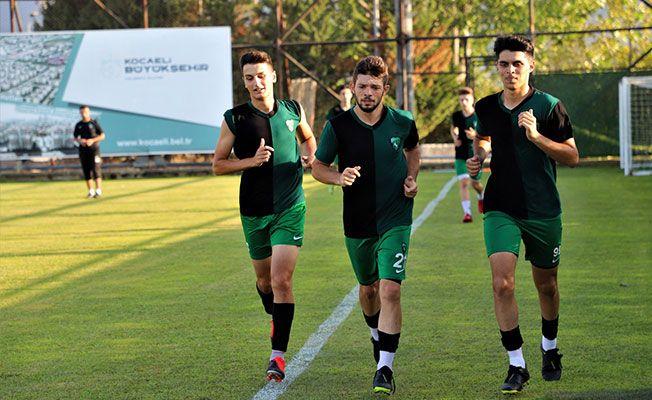 Kocaelispor U19 lige bu tesiste hazırlanıyor