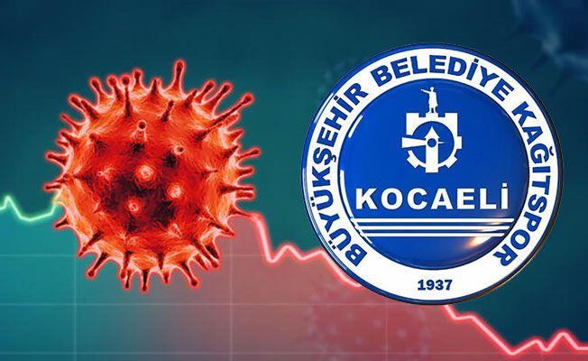 Kocaeli Kağıtspor'da korona şoku