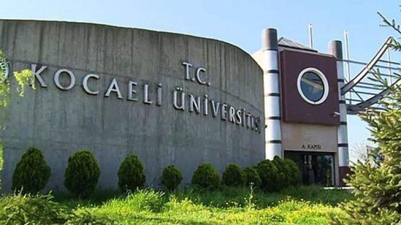 Kocaeli Üniversitesi araştırma görevlisi sonuçları 2021
