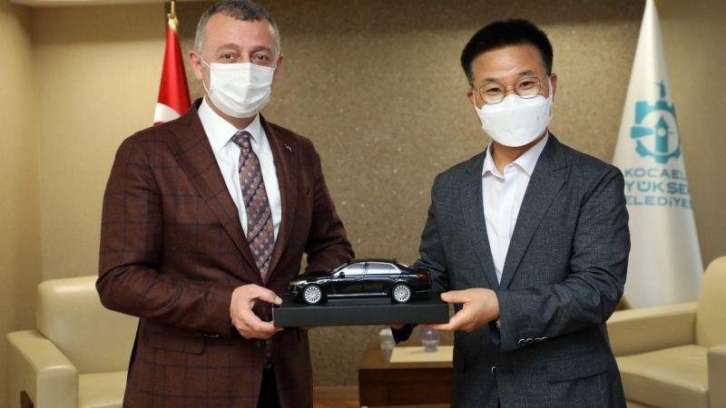 Kocaeli Haber! Tahir Büyükakın, Ustam Projesini Hyundai'ye Anlattı