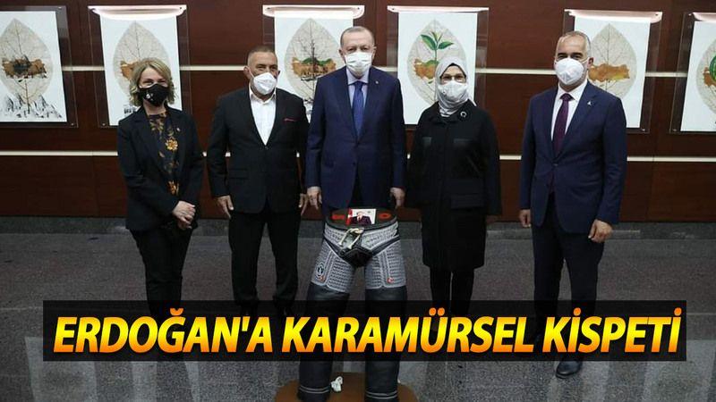 Karamürsel'den Cumhurbaşkanı Erdoğan'a kispet hediyesi