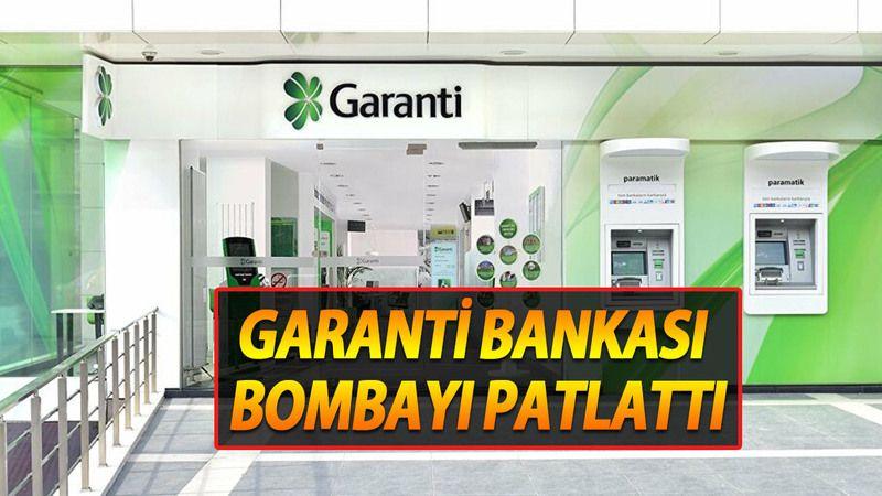 Garanti Bankası Sonunda Bombayı Patlattı! Emekliye Böyle Promosyon Verilmedi!