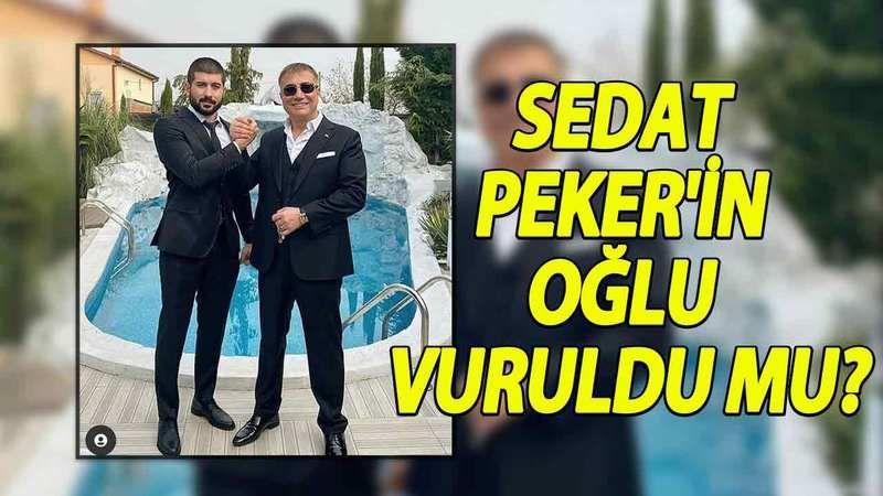 """Sedat Peker'e Bir Şok Daha! Oğlu Celal Han Peker Twitter Hesabını Kapattı! """"Bu Gece Bitmez"""" Neler Oluyor? Oğlu Vuruldu Mu?"""