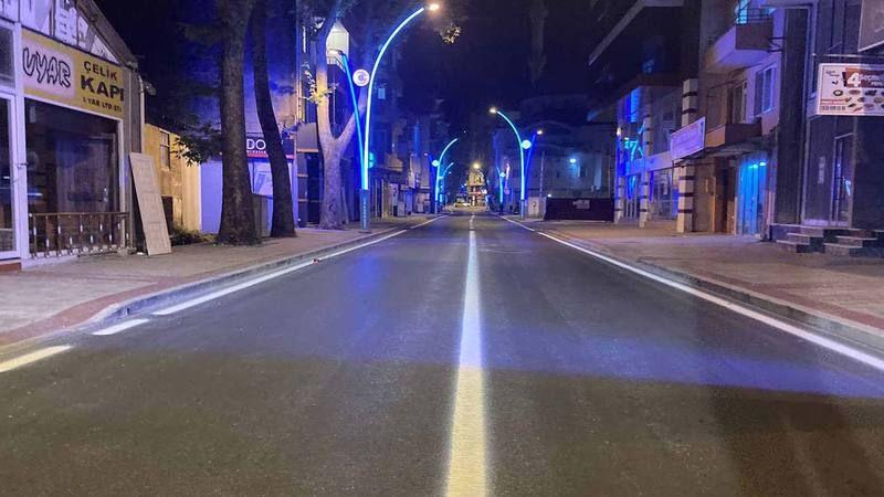 Mehmet Ali Paşa Caddeleri Işıl Işıl, Caddeler Bir Bir Güzelleşiyor...