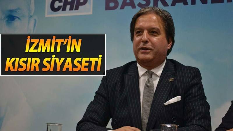 İzmit siyasetinin boş gündemi ve açıklamaları! Koordinatörün boş açıklamasına CHP'den bomboş cevaplar
