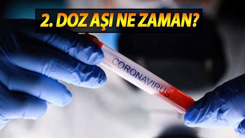 Biontech 2. Doz aşısı ne zaman yapılacak? 2. Doz aşı var mı?