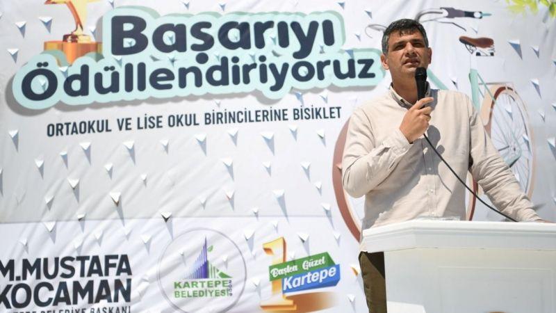 Mustafa Kocaman 58 Gence Bisiklet Dağıttı! Kartepe'de Hiçbir Başarı Ödülsüz Kalmaz...