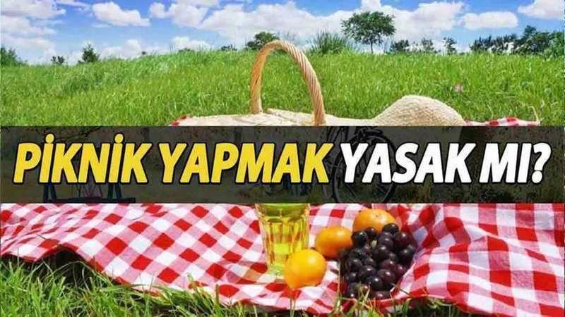 26 Haziran 2021 Cumartesi Piknik Yasağı Var Mı? Hafta Sonu Piknik Yapmak Yasak Mı? 26 Haziran Cumartesi Mangal Yakmak...