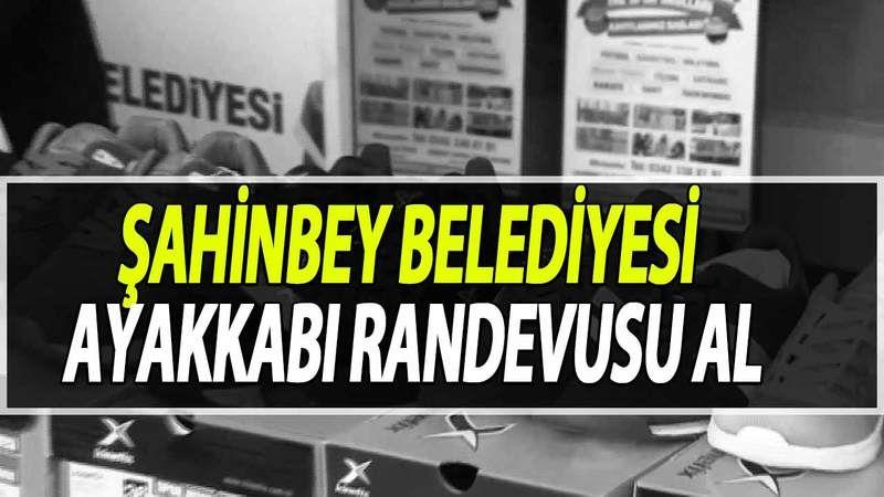 Şahinbey Belediyesi Ayakkabı Randevu Nasıl Alınır? Şahinbey Belediyesi Spor Ayakkabı Randevu Alma Ekranı