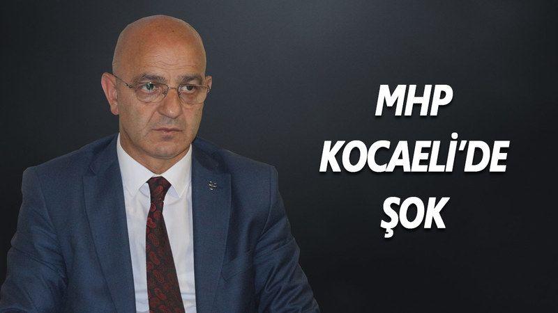 MHP Kocaeli İl Başkanı Aydın Ünlü Görevden Alındı