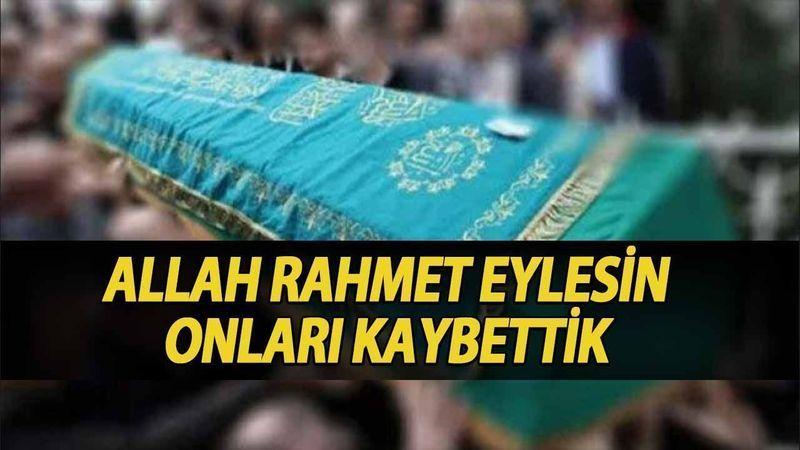 Kocaeli'de bugün vefat edenler (26 Temmuz 2021)