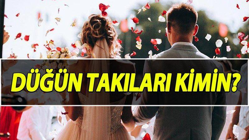Düğünde Takılan Takılar Kime Ait? Düğün Takıları Kimin? İşte Diyanet Kararı