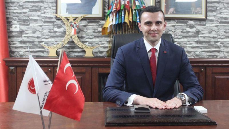 """Kocaeli MHP'de Yeni Dönem Başladı: 28 Yaşındaki Yunus Emre Kurt Başkanlık Koltuğuna Oturdu! """"Aslanlar Gibi…"""""""
