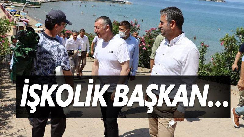 Kocaeli'nin İşkolik Başkanı Durmuyor: Tahir Büyükakın Bugün Kandıra'daydı! Denize Girdi Mi?