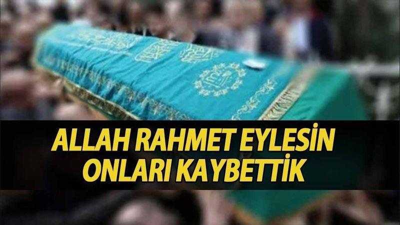 Kocaeli'de bugün vefat edenler (5 Ağustos 2021)