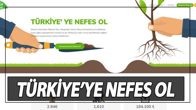 Ankara Büyükşehir Yeşilin Başkenti Yardım! Ankara Büyükşehir Belediyesi Yangın Yardımı Nasıl Yapılır? Ankara Büyükşehir Türkiye'ye Nefes Ol Başvuru Ekranı