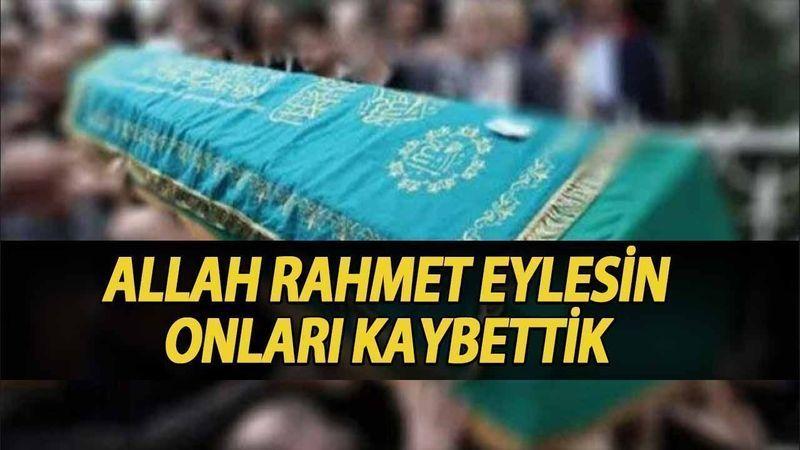Kocaeli'de bugün vefat edenler (12 Ağustos 2021)