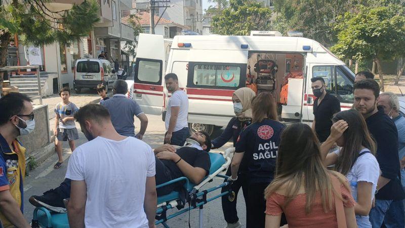 Gebze Kaza: Hafif Ticari Araçla Motosiklet Çarpıştı! Motosikletli Yola Savruldu