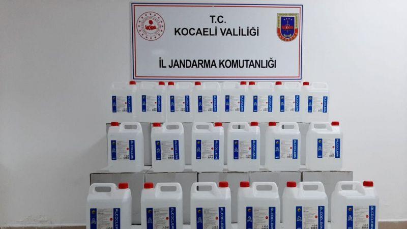 700 Litre Etil Alkol Ele Geçirildi! Kocaeli'de Sahte İçki Operasyonu...