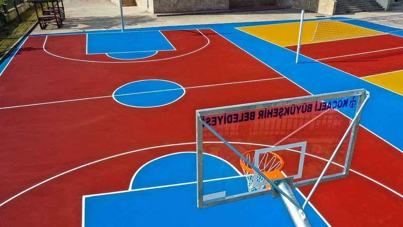 Spor Kenti Kocaeli Durmuyor! Gençler Spor Yapsın, Potasız Okul Kalmasın