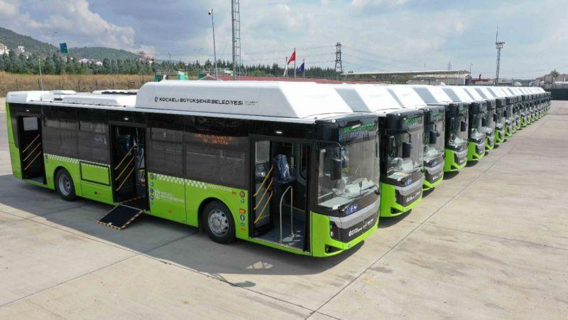 Kocaeli'nin Yeni Otobüsleri Geldi! Bu Daha Başlangıç...