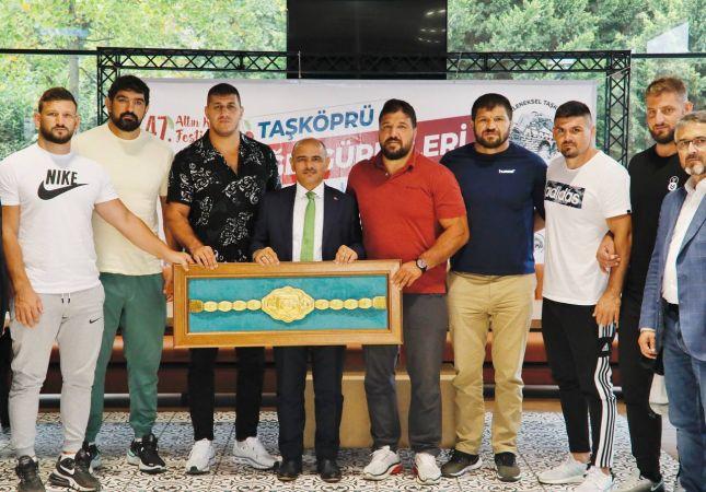 Survivor İsmail Balaban Geliyor: Körfez Belediyesi Yine Muhteşem Bir Organizasyon Yapıyor, Taşköprü Güreş Şenlikleri Başlıyor