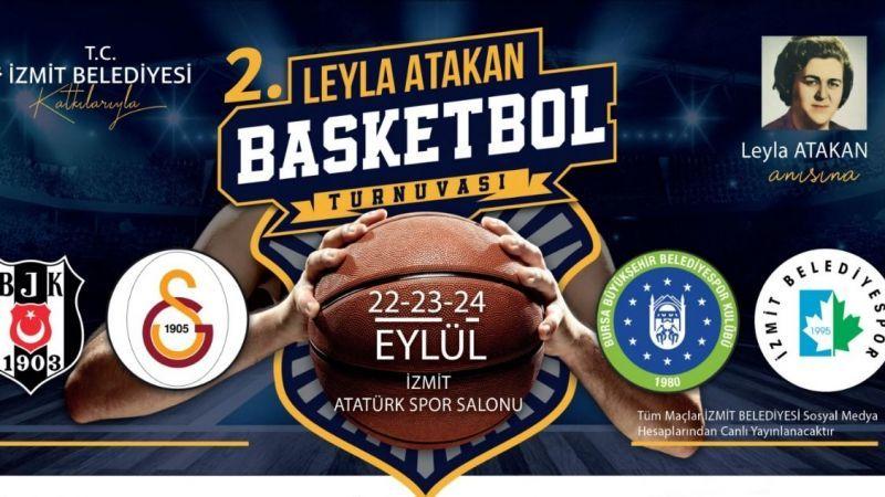 Hazırlıklar Tamam! 2. Leyla Atakan Basketbol Turnuvası Start Aldı