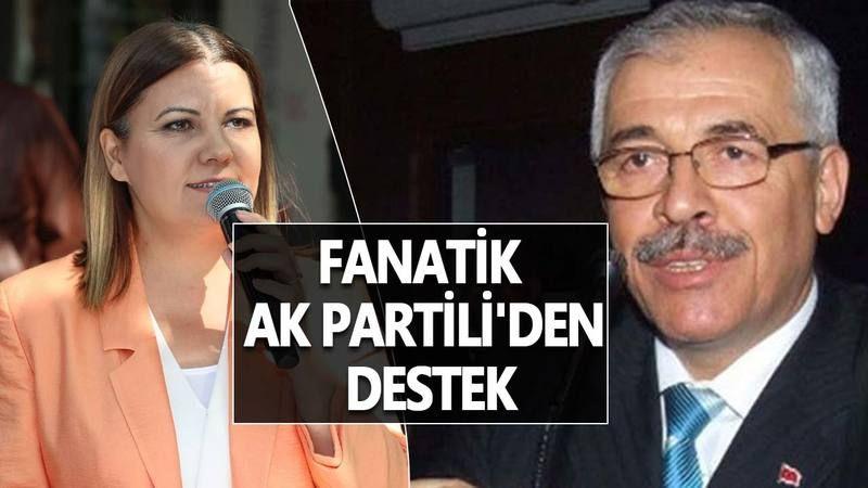 AK Parti'li Halil Vehbi Yenice'den İzmit Belediye Başkanı Fatma Hürriyet'e Destek