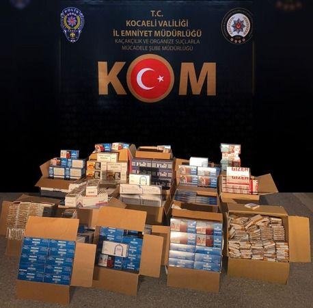 Kaçak sigara operasyonunda 7 kişi tutuklandı